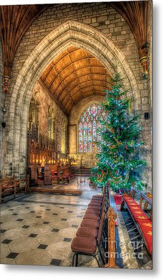 Christmas Tree Metal Print by Adrian Evans