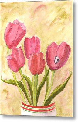 Tulip Time Metal Print by Mickey Krause