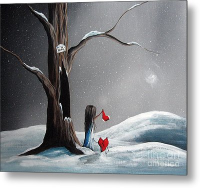 Christmas Wishes By Shawna Erback Metal Print by Shawna Erback