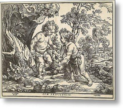 Christoffel Jegher After Sir Peter Paul Rubens Metal Print