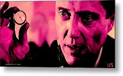 Christopher Walken @ Pulp Fiction Metal Print
