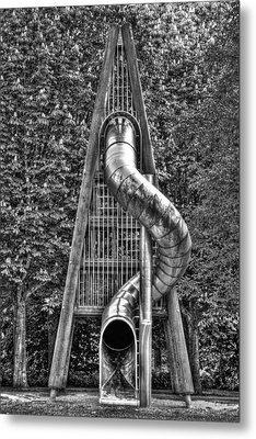 Chromium Slide Metal Print