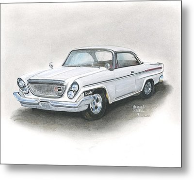 Chrysler Metal Print by Heather Gessell
