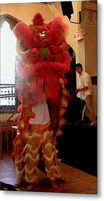Chua Truc Lam One Man Dragon Metal Print by Shawn Lyte
