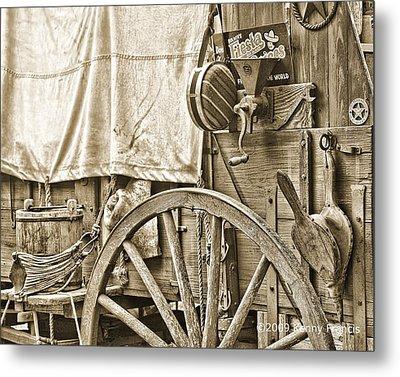 Chuck Wagon Metal Print by Kenny Francis