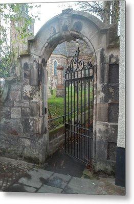 Church Gate Metal Print