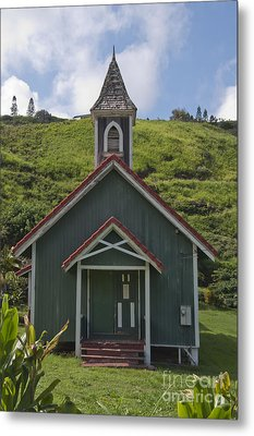 Church In Maui Metal Print