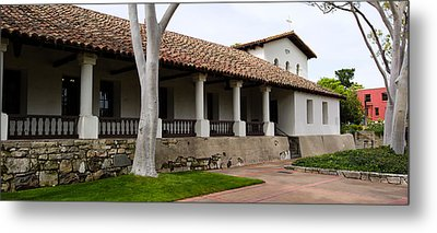 Church, Mission San Luis Obispo, San Metal Print by Panoramic Images