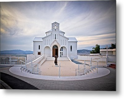 Church Of Croatian Martyrs In Udbina Metal Print