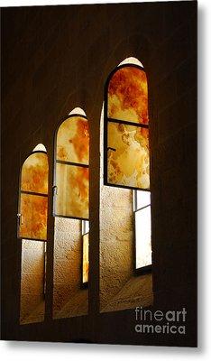 Church Of Heptapegon In Israel Metal Print by Eva Kaufman