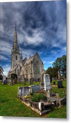 Church Of Marble Metal Print by Adrian Evans