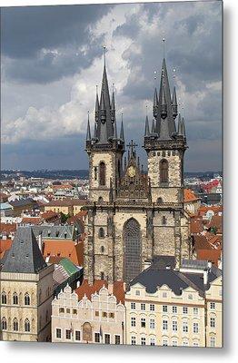 Church Of Our Lady Before Tyn - Prague Metal Print