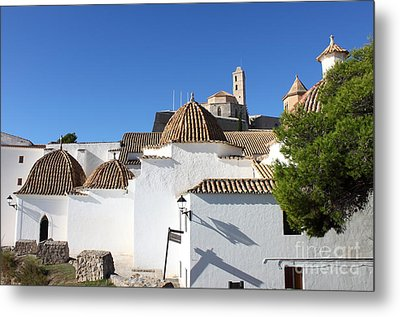 Church Of Santo Domingo In Ibiza Metal Print