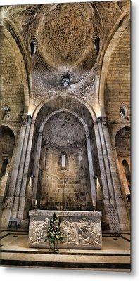 Church Of St. Anne - Jerusalem Metal Print by Stephen Stookey