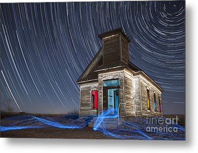 Metal Print featuring the photograph Church Of Taiban by Keith Kapple