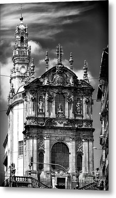 Church Of The Clergy Metal Print by John Rizzuto
