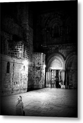 Church Of The Holy Sepulchre Metal Print by Amr Miqdadi