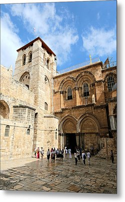 Church Of The Holy Sepulchre Metal Print by Stephen Stookey