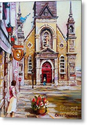 Church On Sunday Metal Print by Carole Spandau