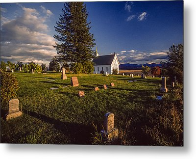Church Potlatch Idaho 1 Metal Print