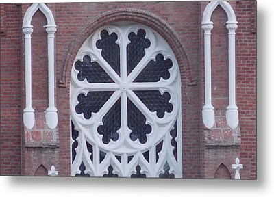 Church Rose  Metal Print