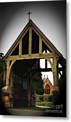 Church Metal Print by Serene Maisey