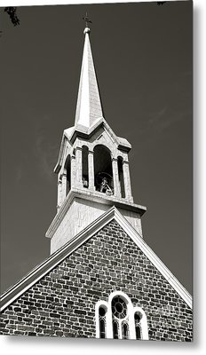 Church Steeple Metal Print by Sarah Mullin