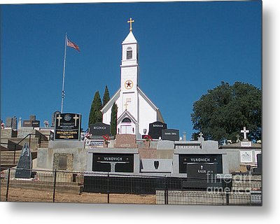 Church  Metal Print by The Kepharts