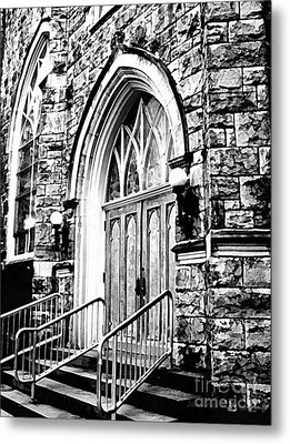Church Timeless Appeal Metal Print by Janine Riley