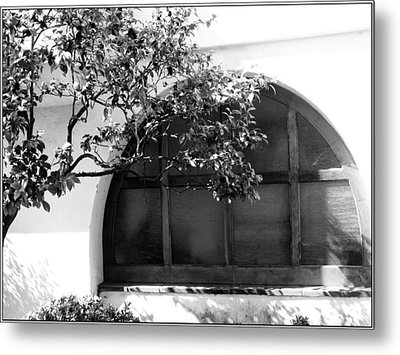 Spanish Window Metal Print by Gilbert Artiaga