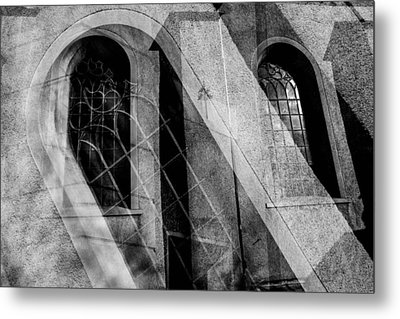 Church With Window Metal Print