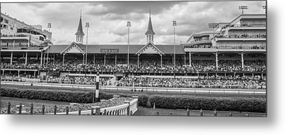 Churchill Downs And Twin Spires  Metal Print