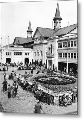Churchill Downs Non-horse Activity  Metal Print by Retro Images Archive