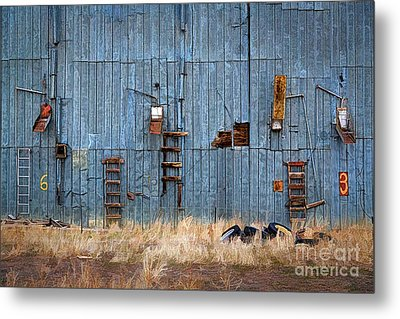 Chutes And Ladders Metal Print by Jon Burch Photography