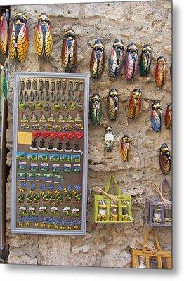 Cicada Souvenirs Metal Print by Pema Hou