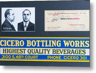 Cicero Bottling Works Chicago Brewing Metal Print