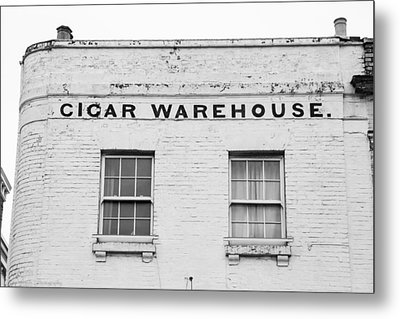 Metal Print featuring the photograph Cigar Warehouse by Ross Henton