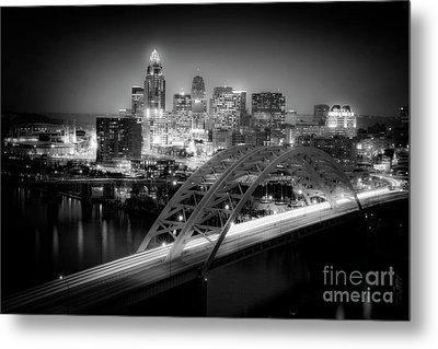Cincinnati A New Perspective Metal Print by Kimberly Nickoson