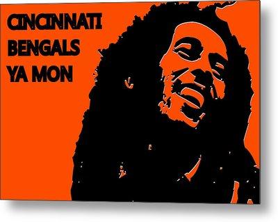 Cincinnati Bengals Ya Mon Metal Print by Joe Hamilton