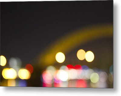 Cincinnati Night Lights Metal Print