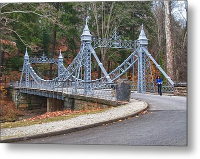 Cinderella Bridge Metal Print by Guy Whiteley