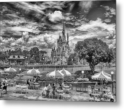 Metal Print featuring the photograph Cinderella's Palace by Howard Salmon