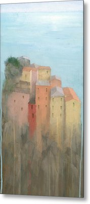 Cinque Terre Metal Print by Steve Mitchell