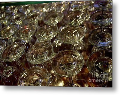 Circles Of Delight Metal Print