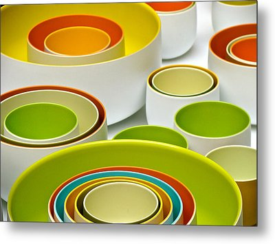 Metal Print featuring the photograph Circles Squared by Ira Shander