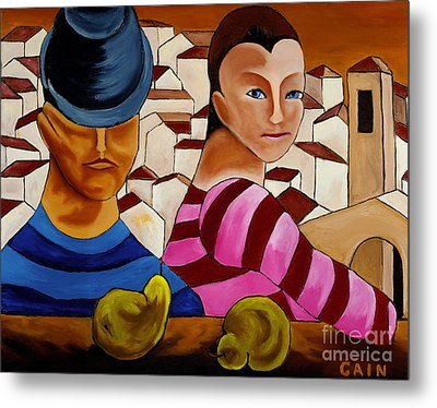 Circus Gypsies   Metal Print by William Cain