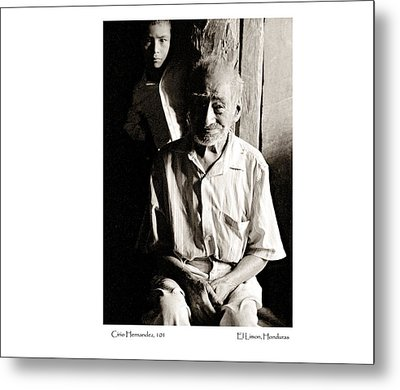 Metal Print featuring the photograph Cirio Hernandez by Tina Manley