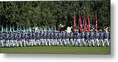 Return To Ranks Metal Print