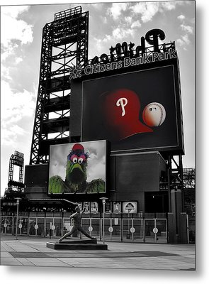 Citizens Bank Park Philadelphia Metal Print