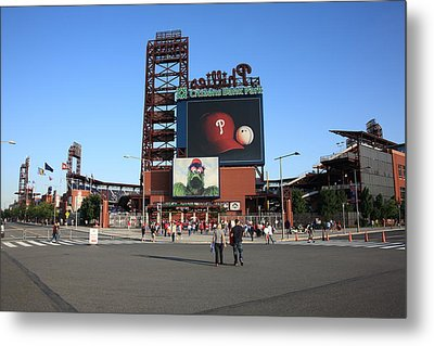Citizens Bank Park - Philadelphia Phillies Metal Print by Frank Romeo